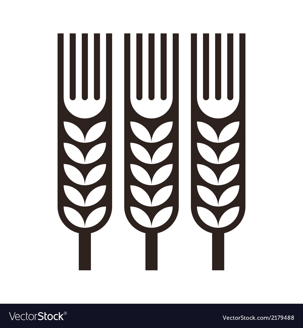 Wheat ear icon vector | Price: 1 Credit (USD $1)