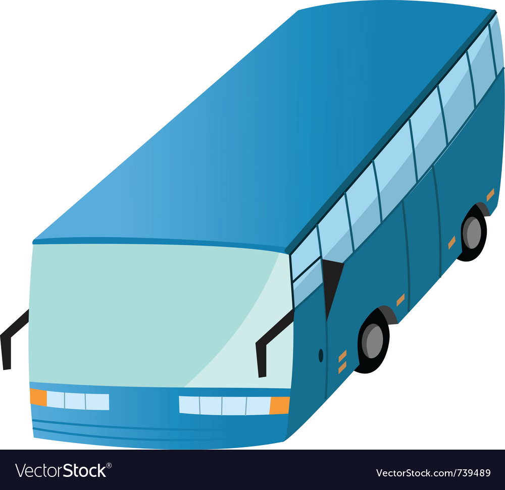 Bus transit 2 vector | Price: 1 Credit (USD $1)