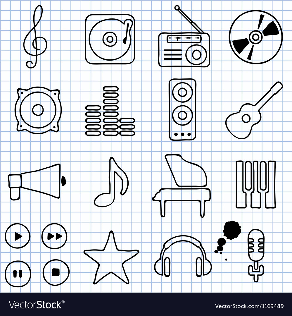 Music vector | Price: 1 Credit (USD $1)