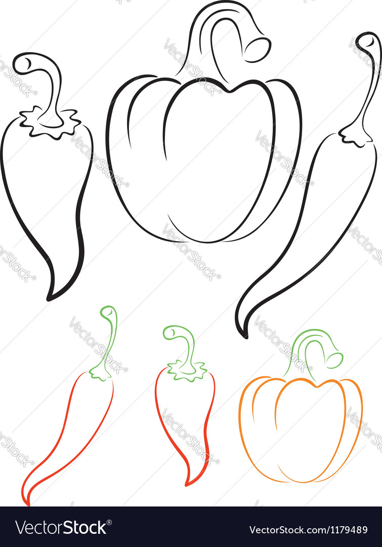 Pepper vector