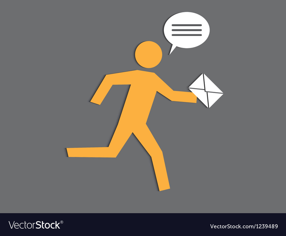 Running the postman vector | Price: 1 Credit (USD $1)