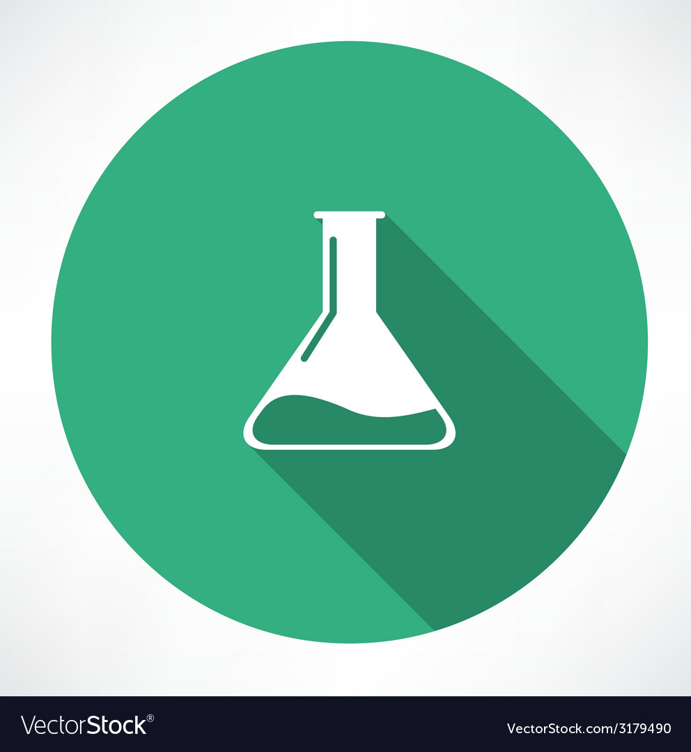 Chemical icon vector | Price: 1 Credit (USD $1)
