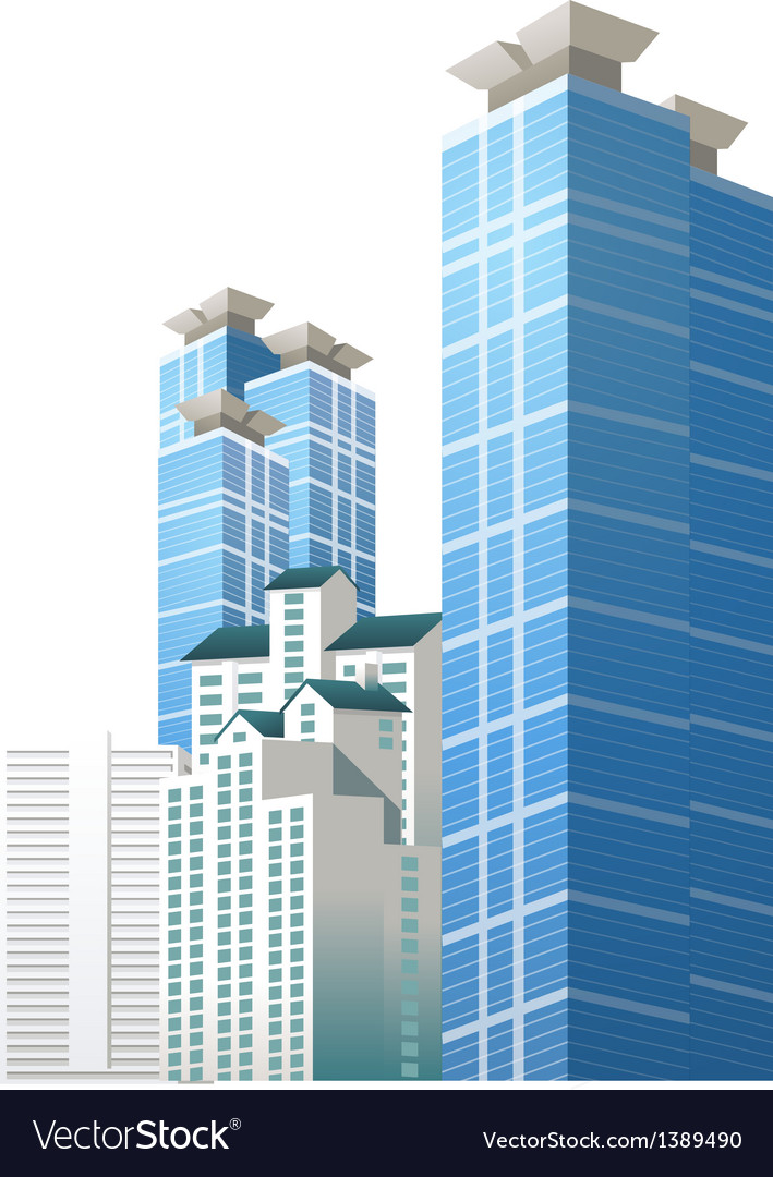 Icon building vector | Price: 1 Credit (USD $1)