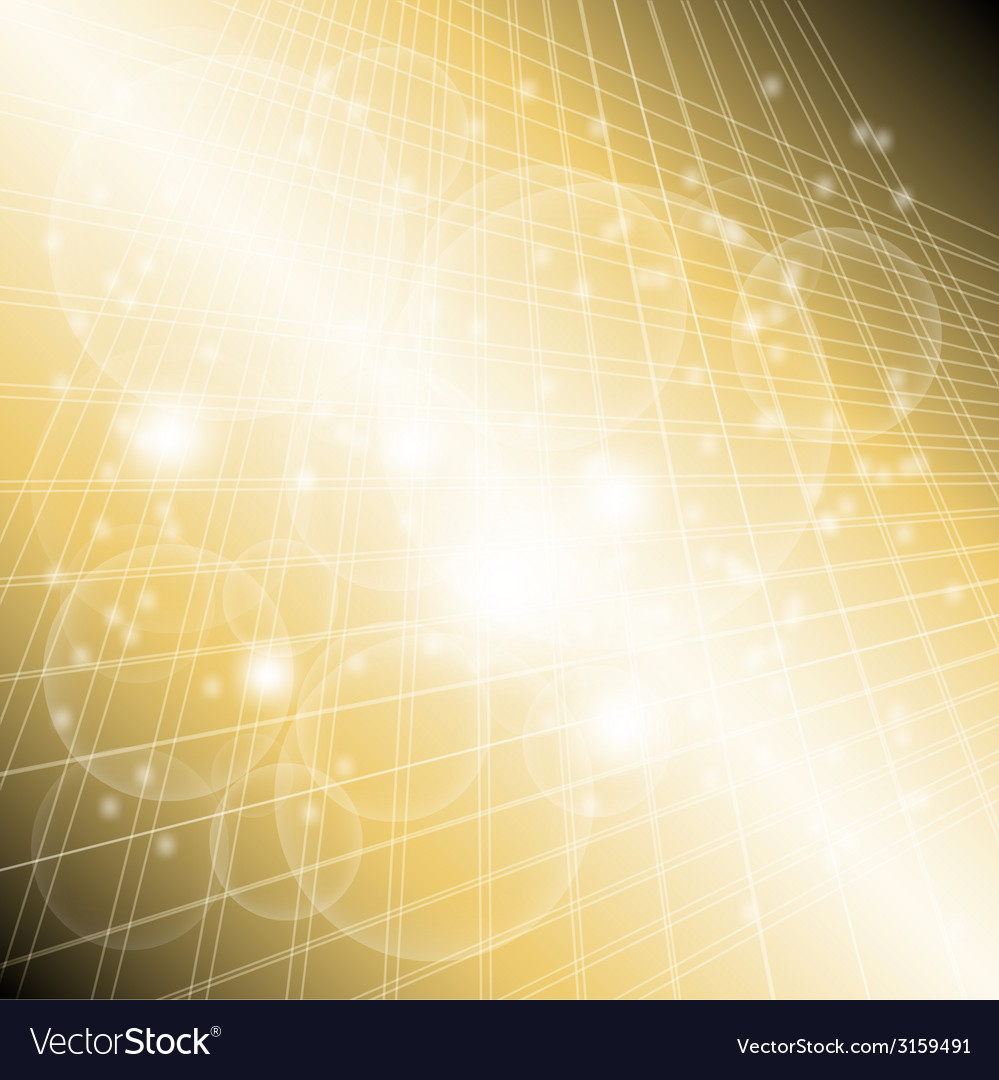 Abstract golden grid circle light background vector | Price: 1 Credit (USD $1)