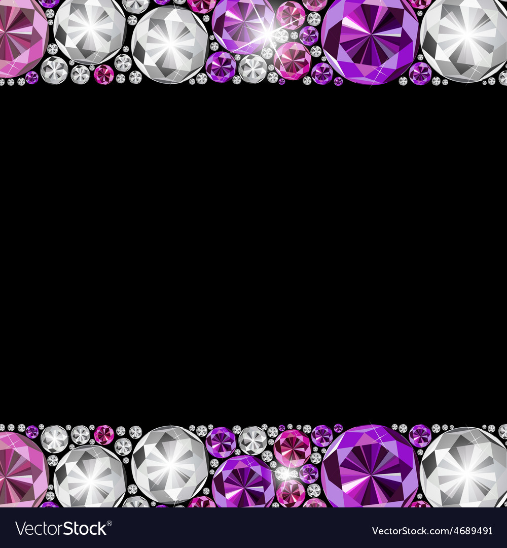 Abstract luxury black diamond background vector | Price: 1 Credit (USD $1)