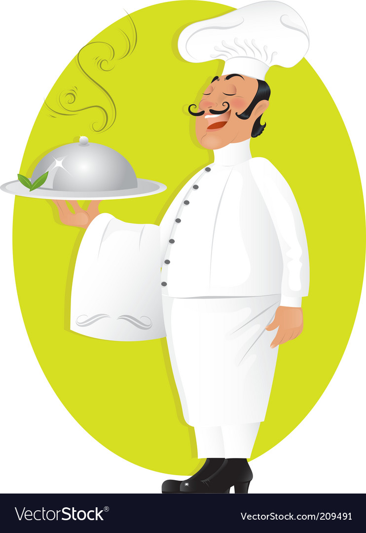 Professional chef vector | Price: 1 Credit (USD $1)