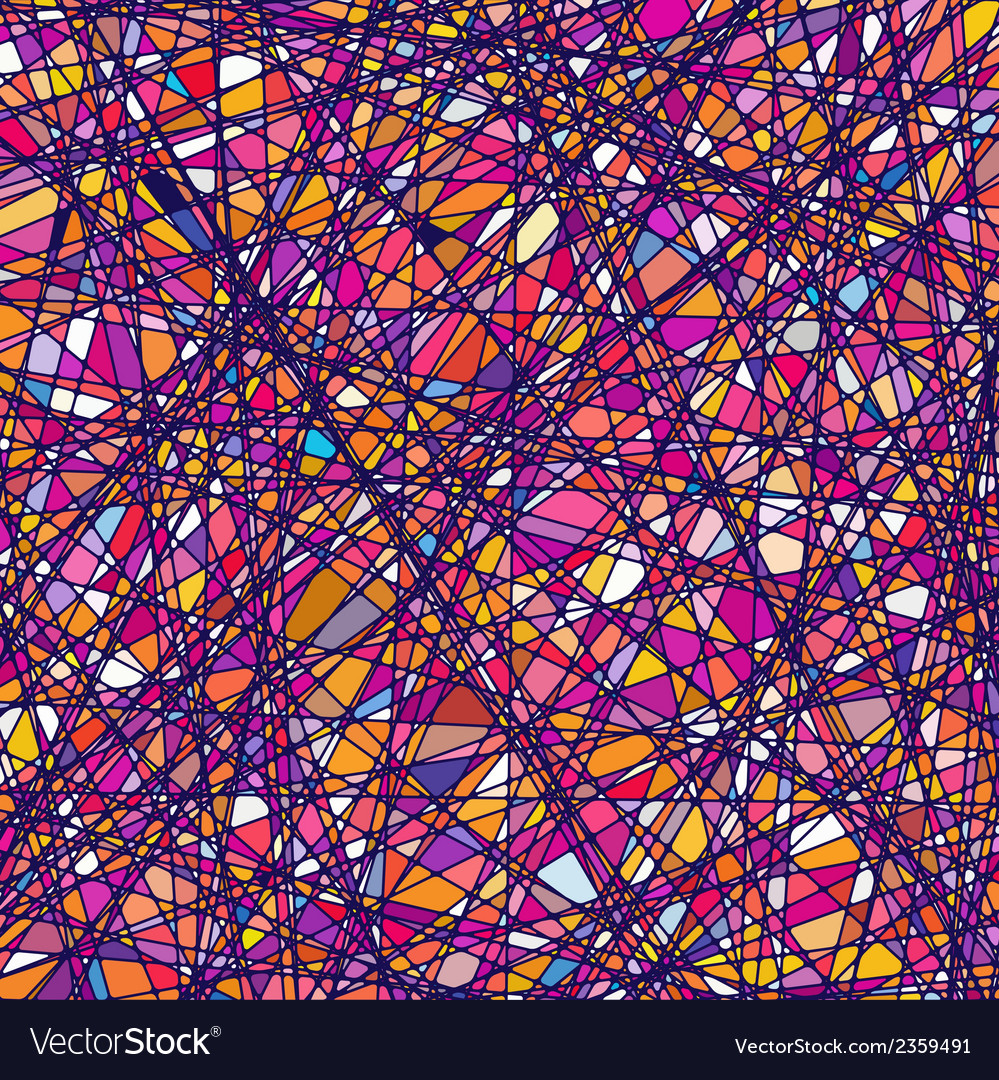 Stained glass texture in a purple tone eps 8 vector | Price: 1 Credit (USD $1)