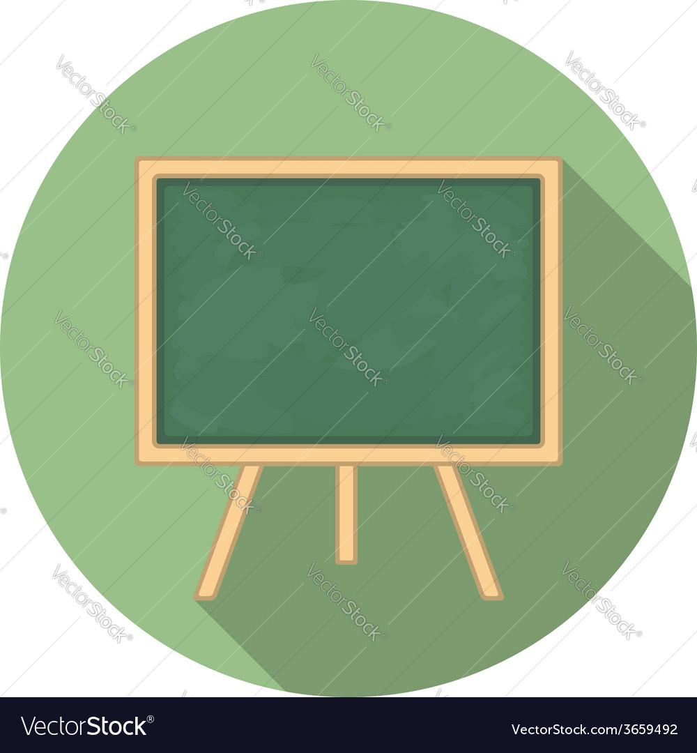 Blackboard icon vector | Price: 1 Credit (USD $1)