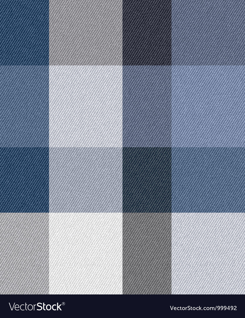 Blue check fabric vector | Price: 1 Credit (USD $1)
