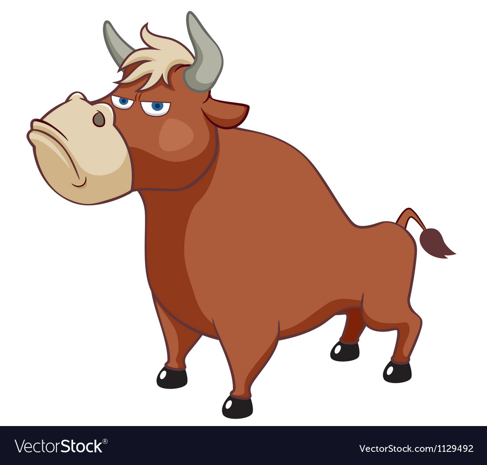 Bull vector | Price: 1 Credit (USD $1)