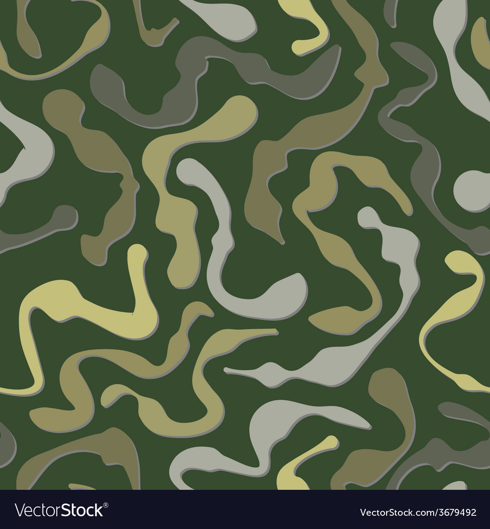 Fatigues seamless pattern vector