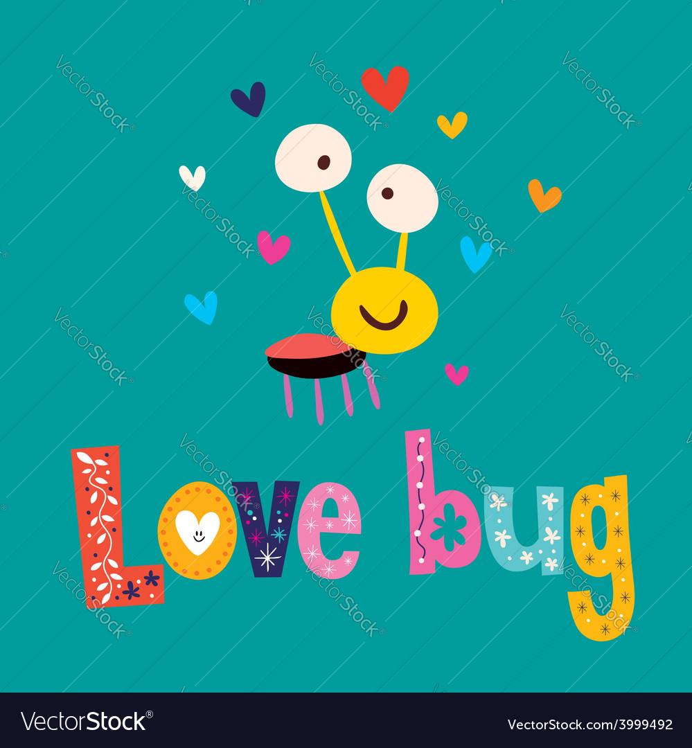 Love bug vector | Price: 1 Credit (USD $1)