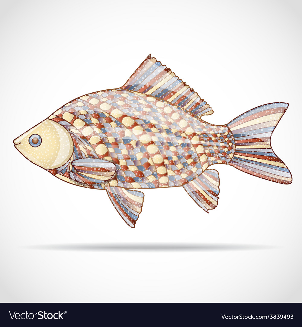 Abstract fish vector   Price: 1 Credit (USD $1)