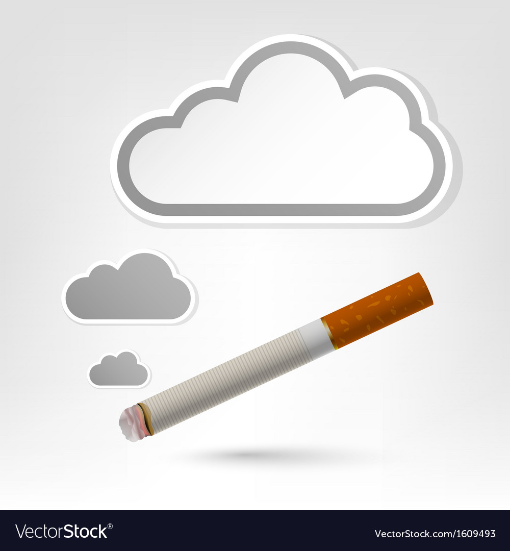 Cigarette background vector | Price: 1 Credit (USD $1)