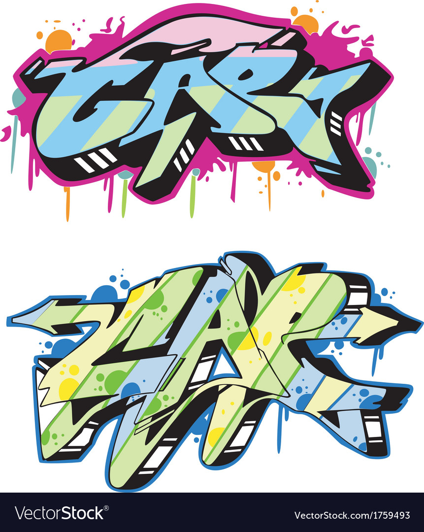 Graffito - cap vector | Price: 1 Credit (USD $1)