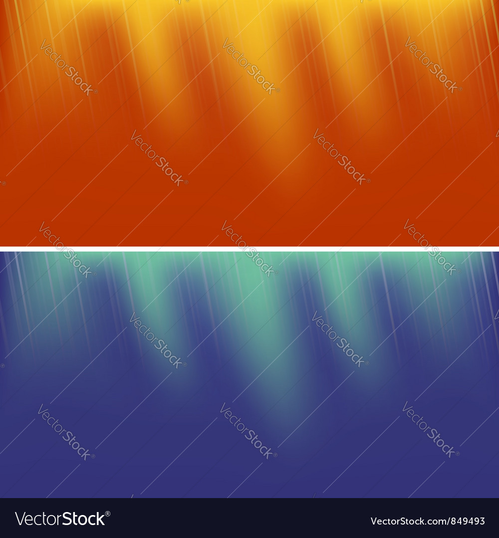 Two abstract backgrounds vector | Price: 1 Credit (USD $1)
