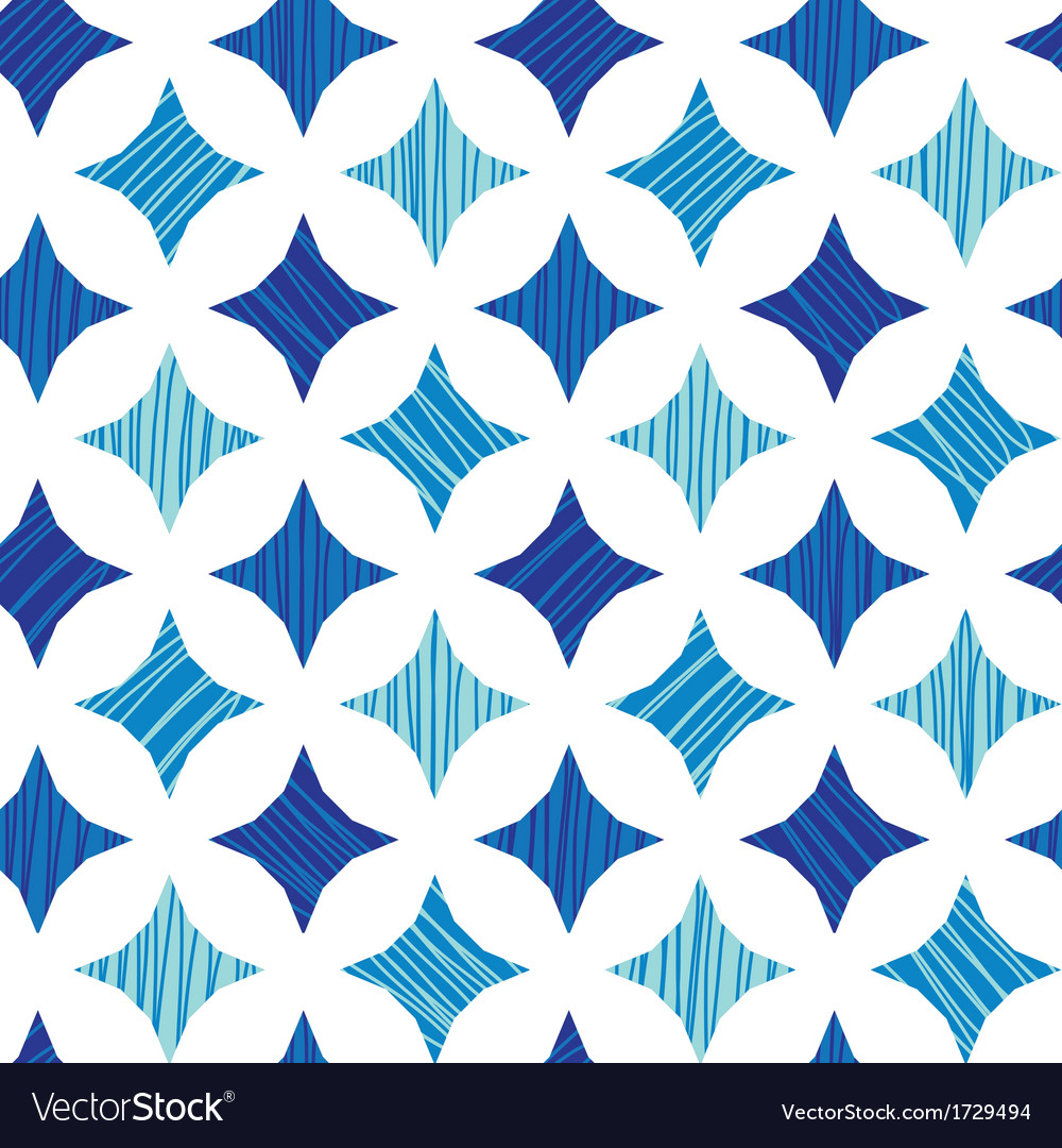 Blue marble tiles seamless pattern background vector | Price: 1 Credit (USD $1)