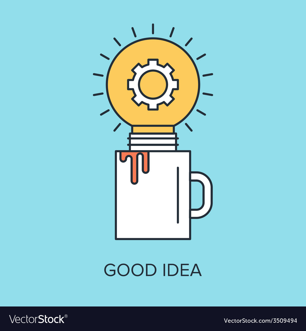 Good idea vector | Price: 1 Credit (USD $1)