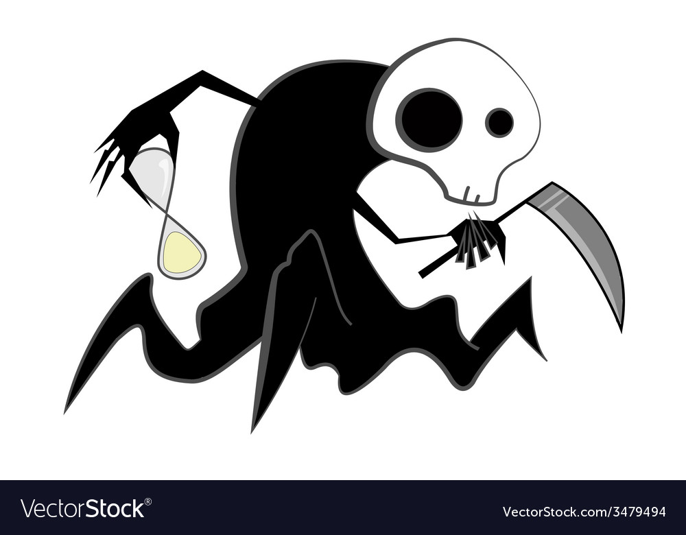 Spooky reaper vector | Price: 1 Credit (USD $1)