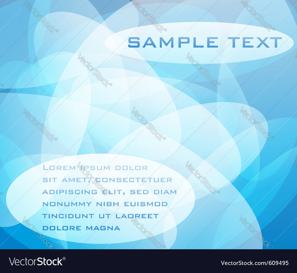 Abstract blue design for background vector | Price: 1 Credit (USD $1)