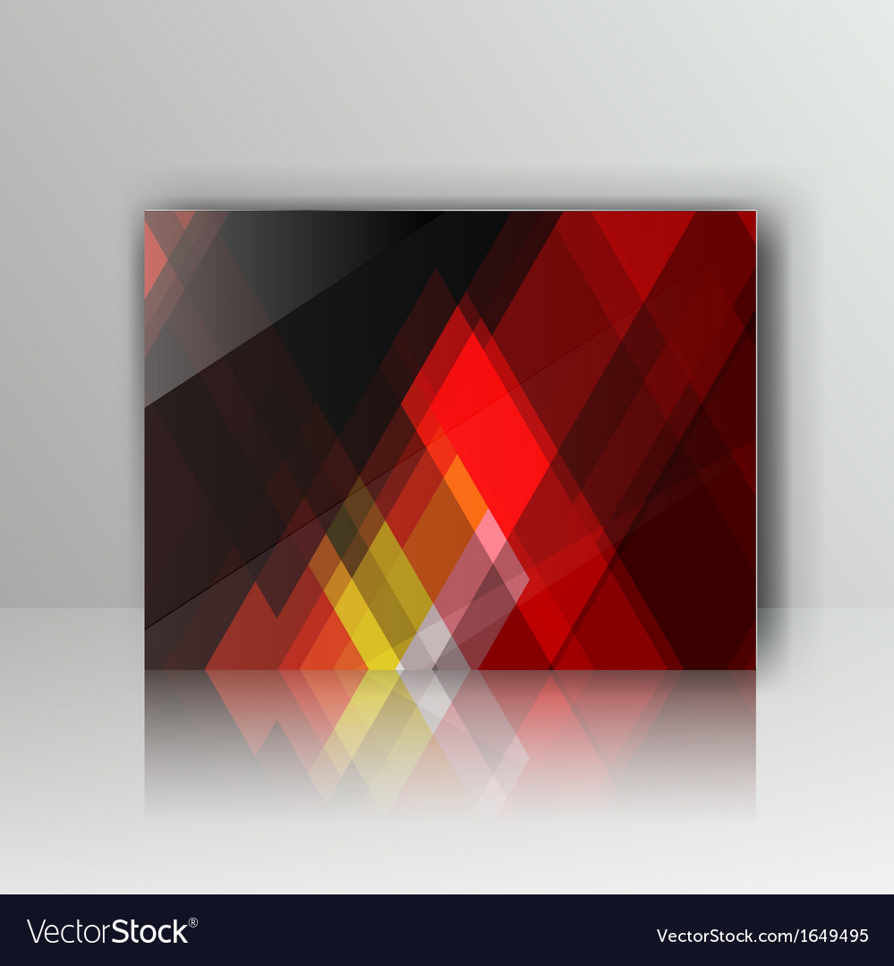 Card with abstract geometrical background vector   Price: 1 Credit (USD $1)