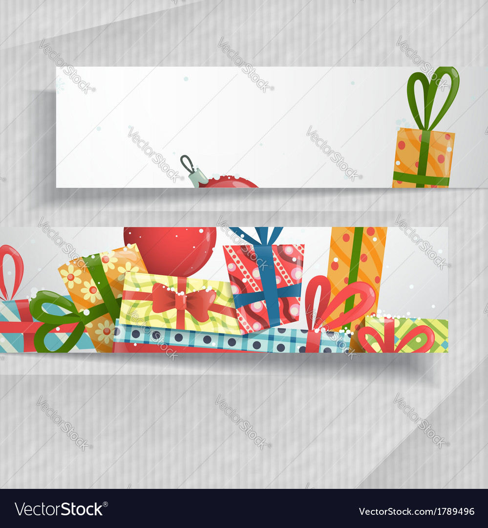 3d abstract banners with place for your text vector | Price: 1 Credit (USD $1)