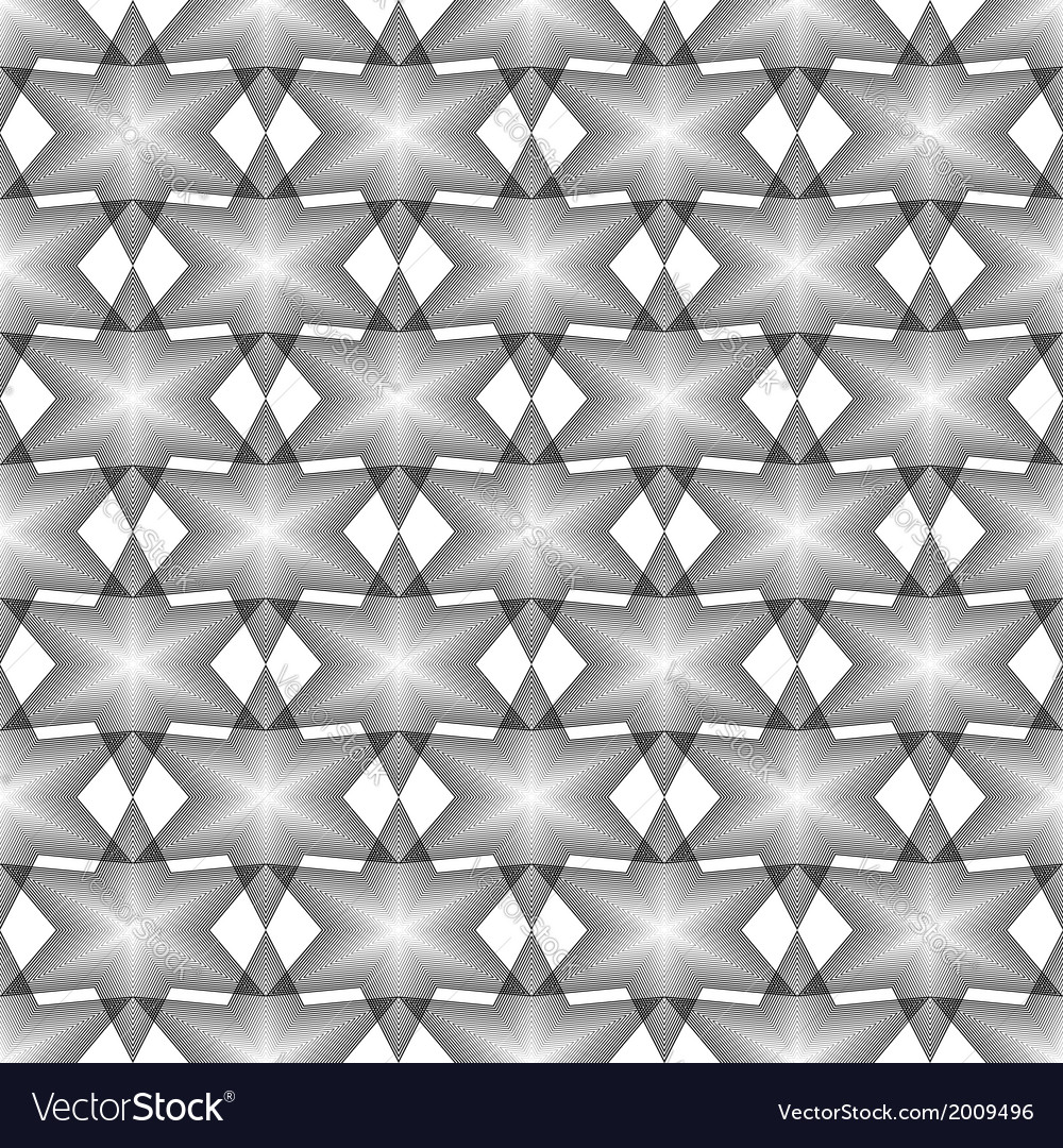 Design seamless monochrome latticed pattern vector | Price: 1 Credit (USD $1)