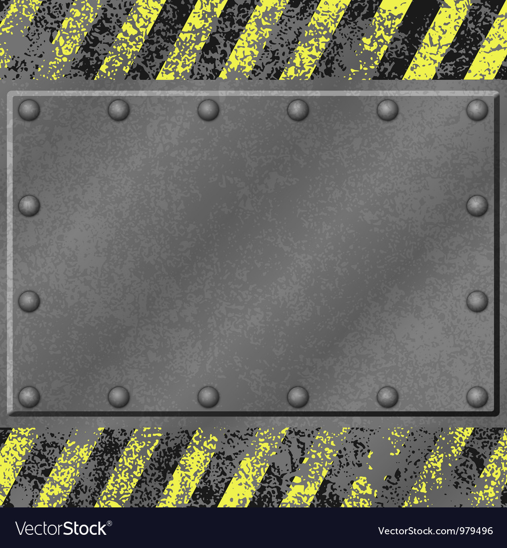 Grunge metal background vector | Price: 1 Credit (USD $1)