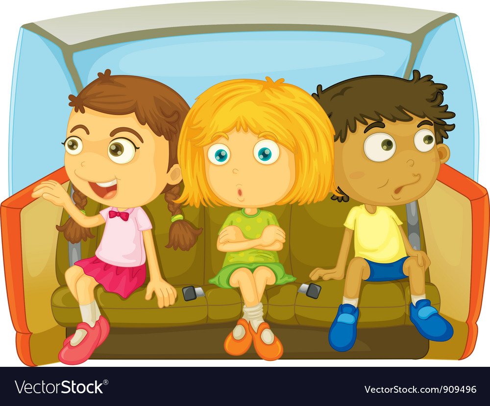 In the car vector | Price: 3 Credit (USD $3)