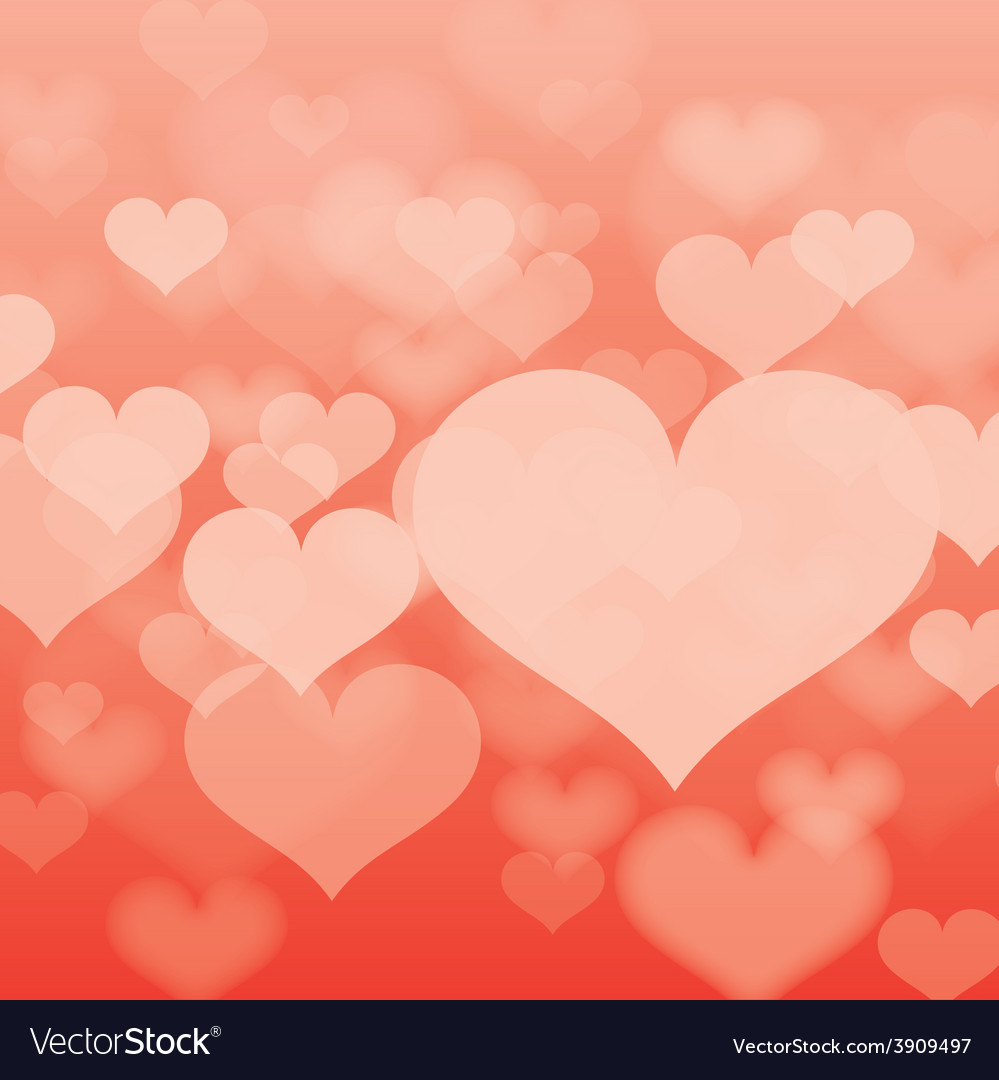 Abstract heart background in format vector | Price: 1 Credit (USD $1)