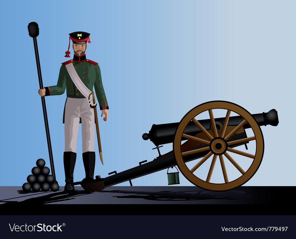Artillery vector | Price: 3 Credit (USD $3)