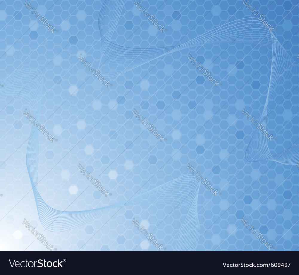 Blue colored background - cell concept vector | Price: 1 Credit (USD $1)