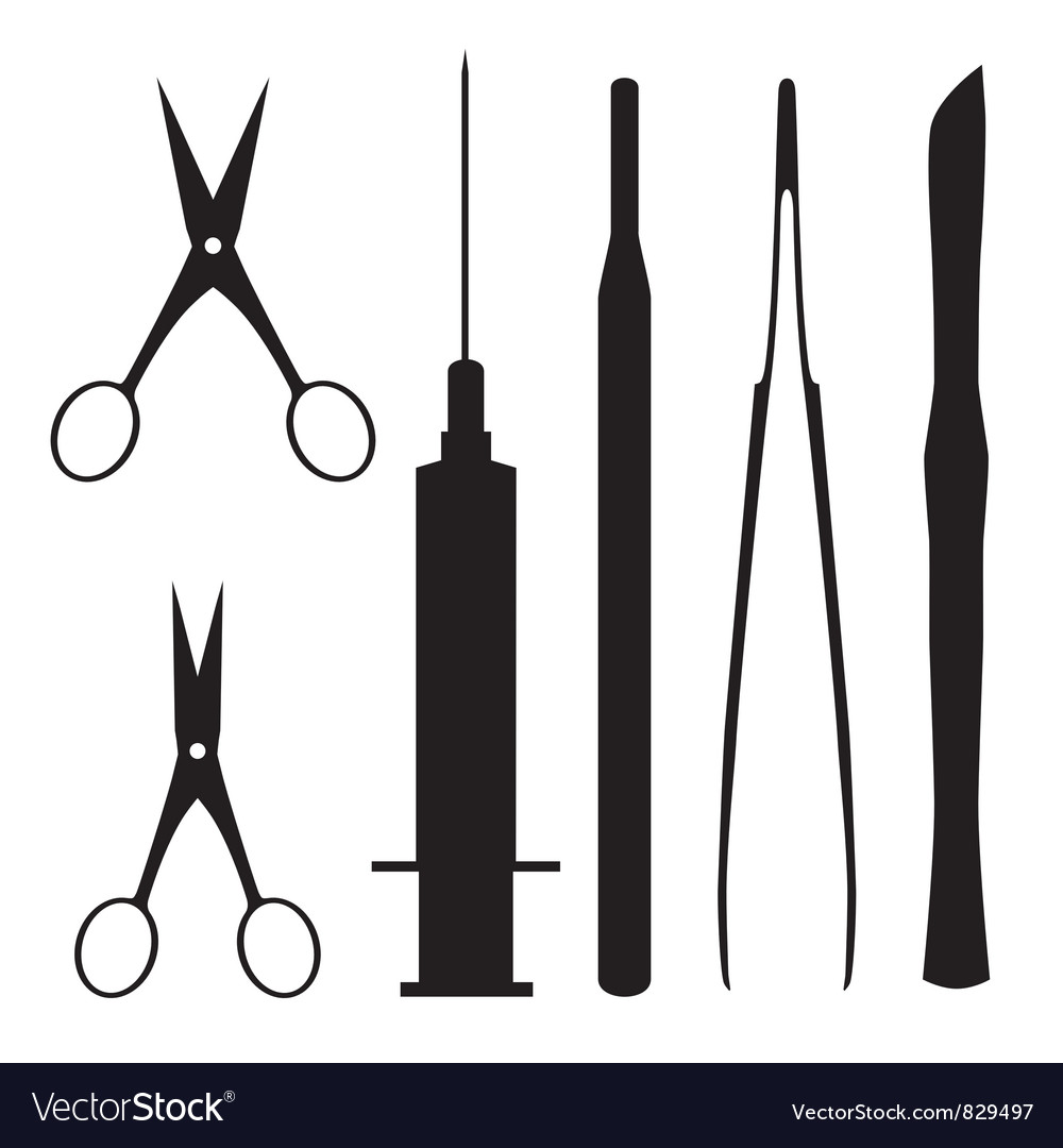 Medical tools vector | Price: 1 Credit (USD $1)
