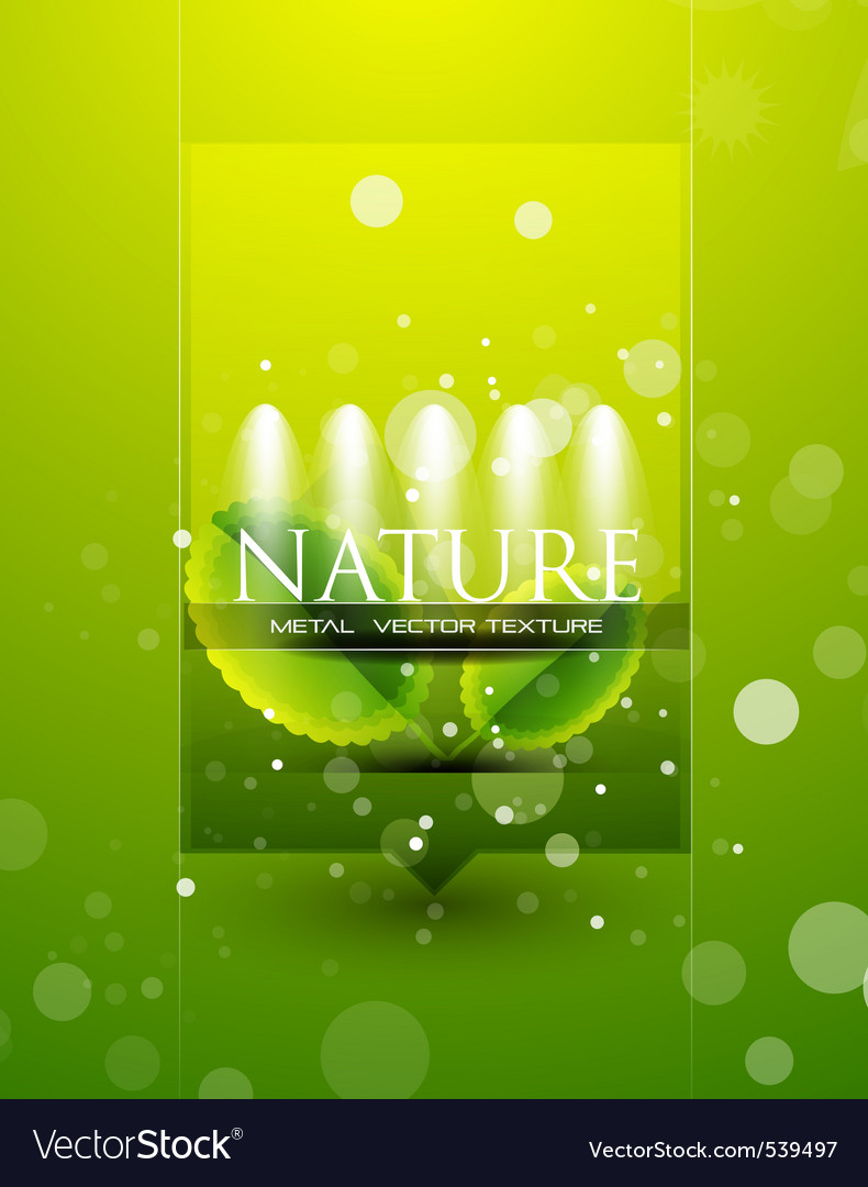 Nature template vector | Price: 1 Credit (USD $1)