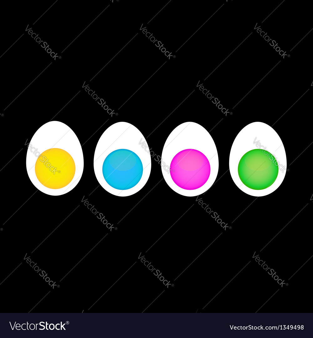 Egg business vector | Price: 1 Credit (USD $1)