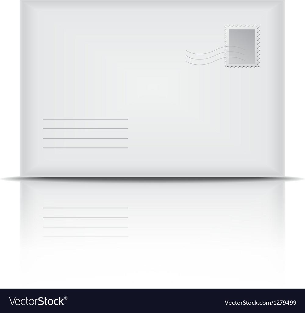 White envelope vector | Price: 1 Credit (USD $1)