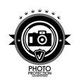 Black retro vintage label  tag  badge  photo vector