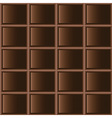 Chocolate dark tiles seamless texture vector