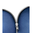 Business background with blue leather texture and vector