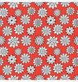 Doodle flowers pattern vector