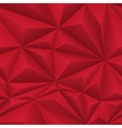 Red abstract polygon background tile vector