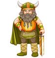 Viking warrior vector