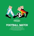 Football match eps10 vector