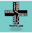 Traffic jam vector
