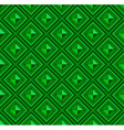Seamless pattern green abstract shape color vector