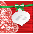 Xmas cardgift cardbeautiful cards vector