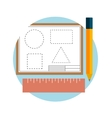 Instruments for design and architecture vector