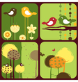 Greeting cards wi vector