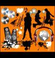 Music design elements vector