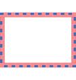 United states flag frame vector